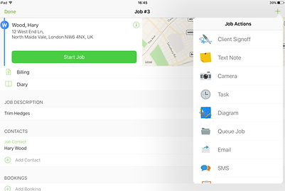 ServiceGuru ServiceM8 Files and Photos App