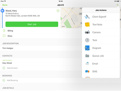 ServiceGuru ServiceM8 Mobile App