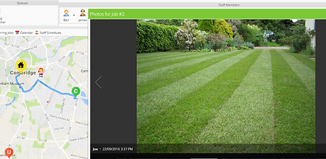 ServiceGuru ServiceM8 Image Capture for gardeners and landscapers