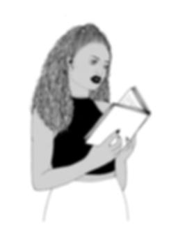 Women reading feminist literature