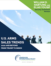U.S. Arms Sales Trends: 2020 and Beyond from Trump to Biden