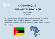 Mozambique Situation Tracker