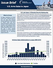 U.S. Arms Sales to Japan