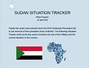 Sudan Situation Tracker