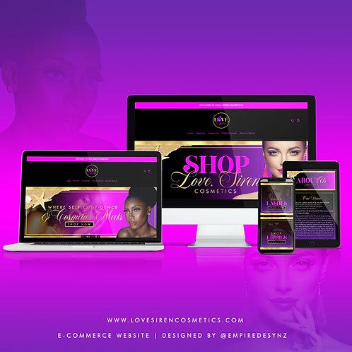 Full Shopify Website Design