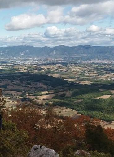 Uitzicht op Terni