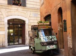 Ape in Rome
