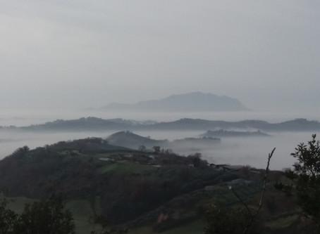 Zomaar een zondag in januari in Umbrië.