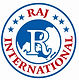 Logo of Raj international.JPG