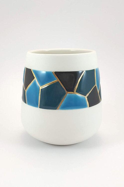 Gobelet Mosaïque Bleu