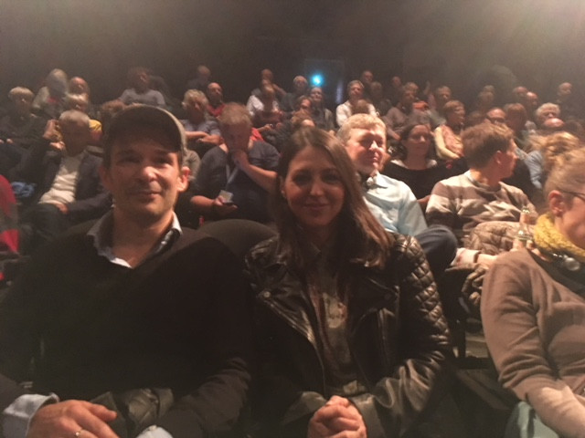 The screeining of Vorders, Raindrops at Cottbus Film Festival