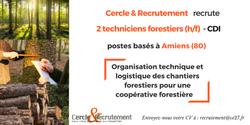 CDI Techniciens forestiers (80)