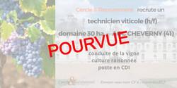 CDI Technicien Viticole (41)