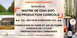 CDI Maître de chai cidricole (27)