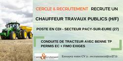 CDI Chauffeur travaux publics(27)