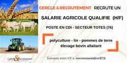 CDI Salarié agricole (76)