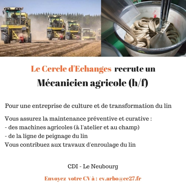 CDI Mécanicien Agricole (27)