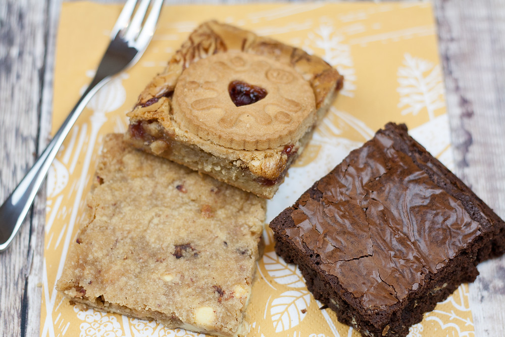 Little Bee Bakes Blondies and Brownies