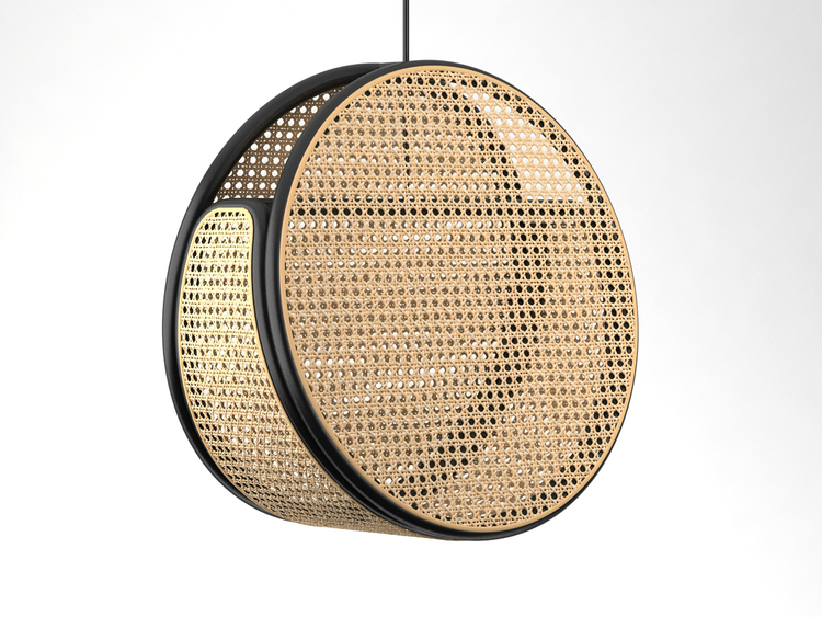 Jacaranda pendant light by Dennis Abalos