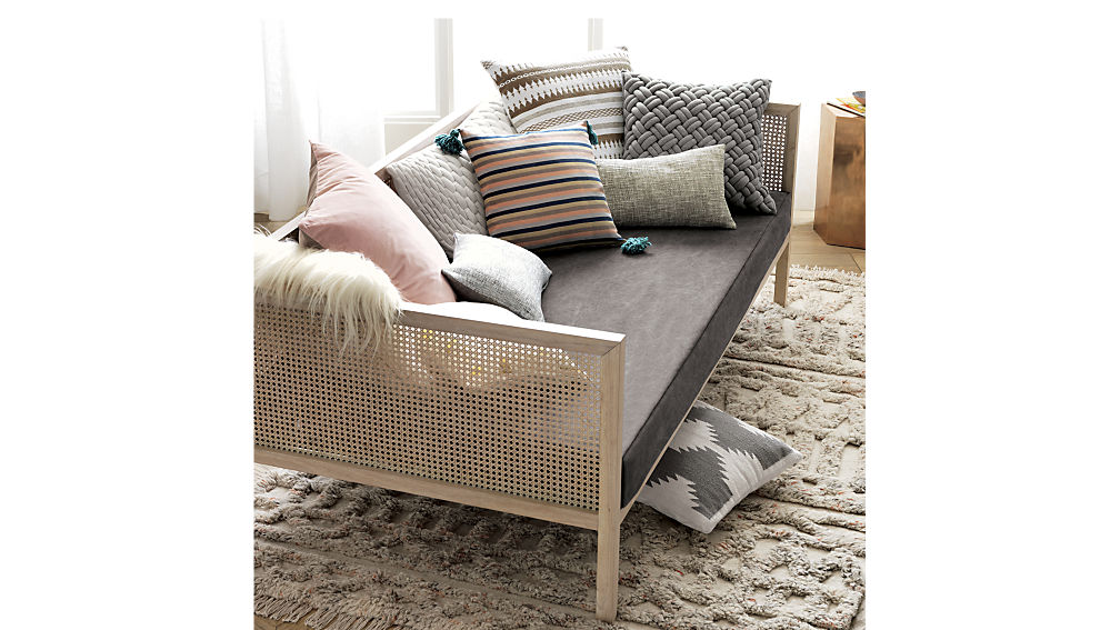 Boho Day bed frame, CB2 exclusive