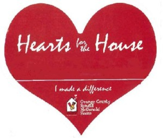 Hearts for the house logo