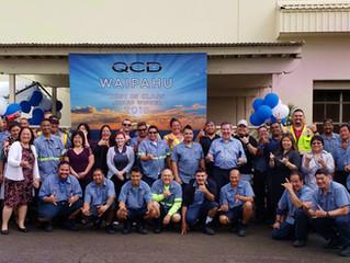 QCD in Waipahu, Hawaii Earns Best in Class Award