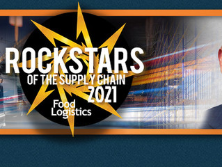 Food Logistics Honors Ryan Hammer Among Rock Stars of the Supply Chain