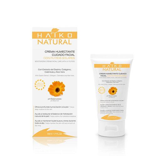 Crema Humectante Facial Con Filtros Solares 50g