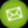 Icono de correo Circular