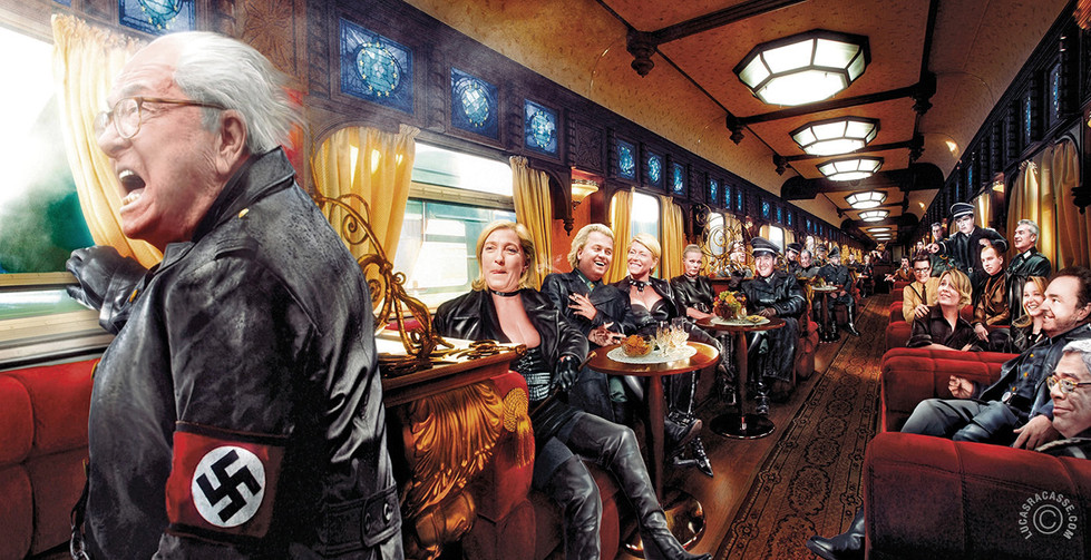 007 #The European fascist train / 2015