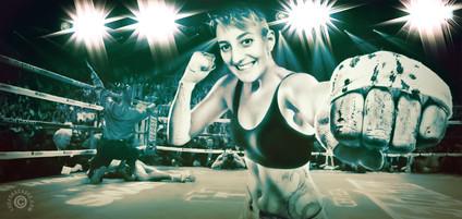 Laurane Erwan on the ring — 2018