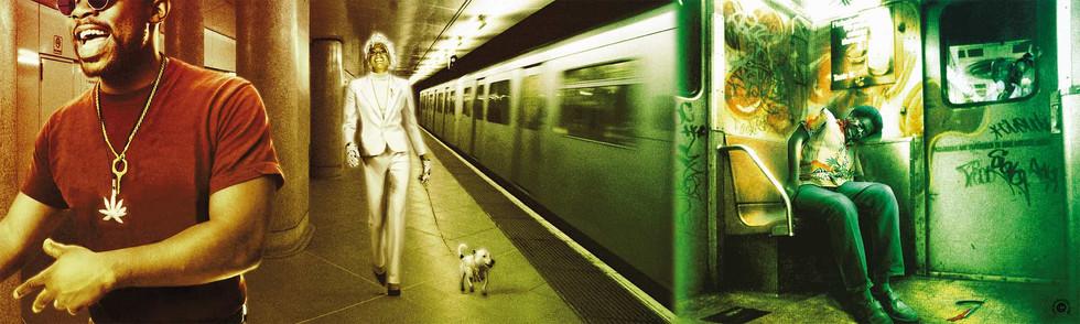 Imbroglio dans le metro