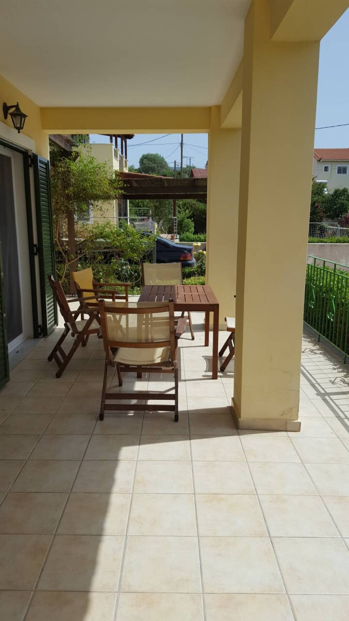 Villa Katirinia terrace