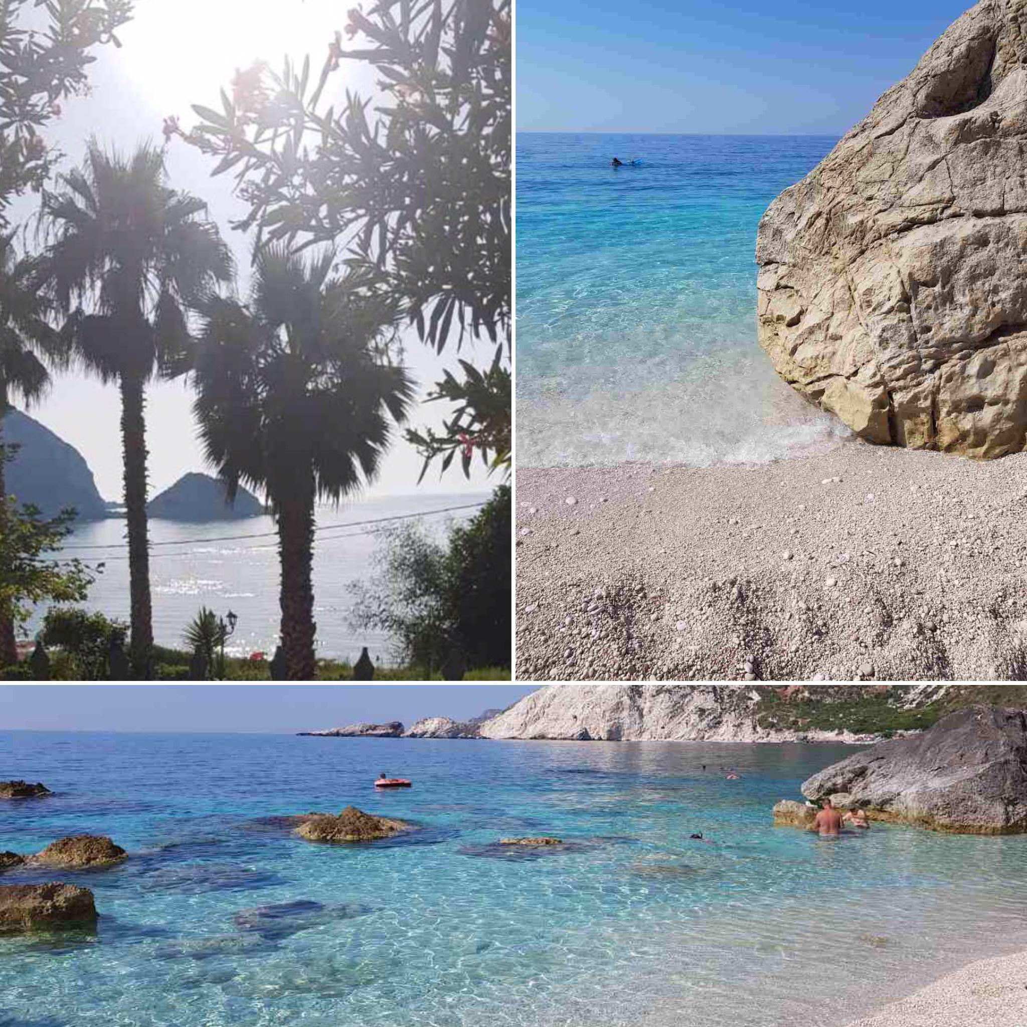 Petani Beach Cephalonia island