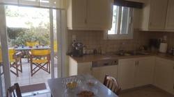 Villa Katirinia kitchen