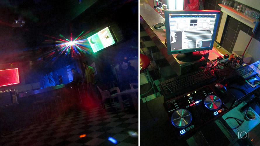 Parteen teenage club diskoteka