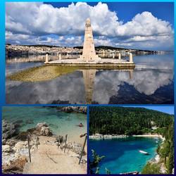 Argostoly capital Kefalonia Island