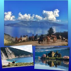 Sami Bay.Cephalonia Island