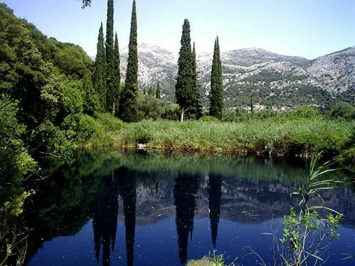 Mountain Lake,Kefalonia