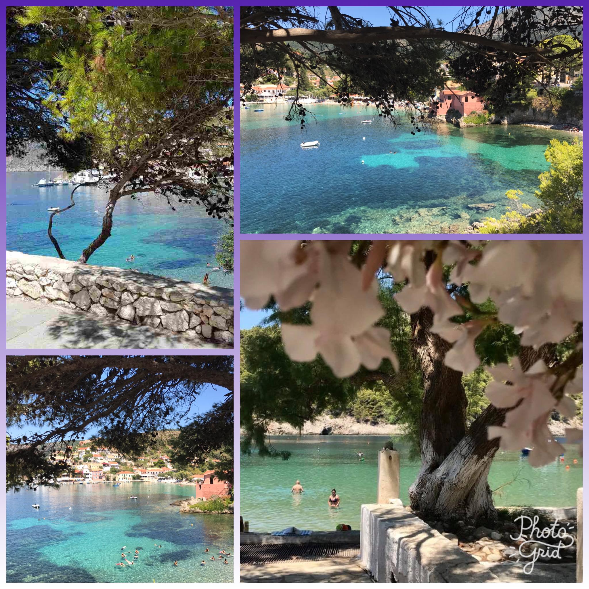 Assos,Myrtos Bay Cephalonia