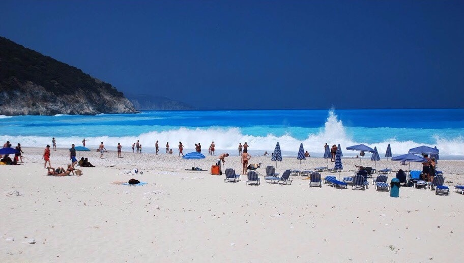 Mirtos Beach,Kefalonia