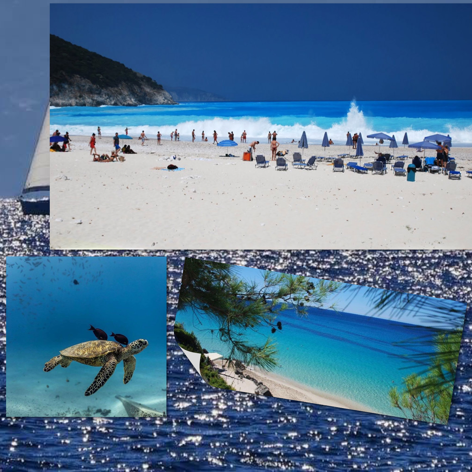 Myrtos Beach Cephalonia