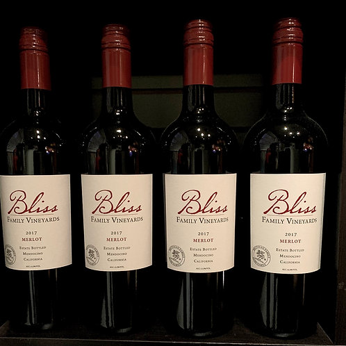 Bliss Vineyards Merlot