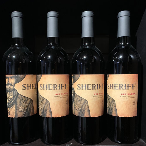2018 Sheriff Red Blend