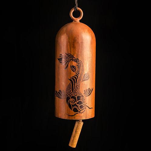 Koi Fish Art Bell