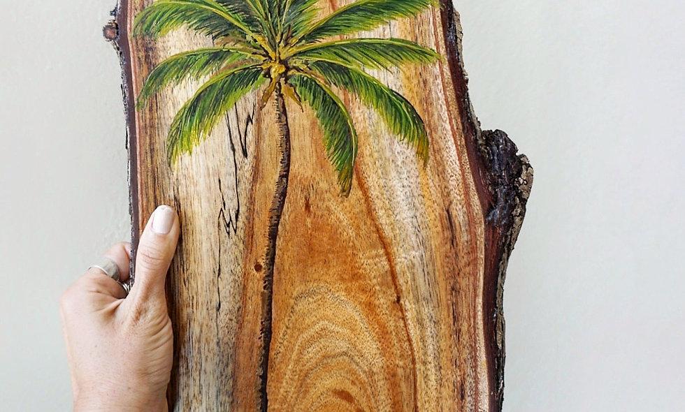 Palm tree on Koa