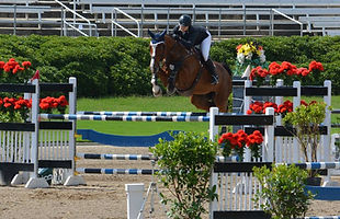 jumper barn student at a show