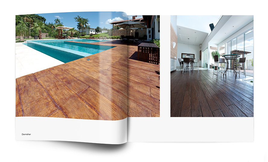 design gráfico de catálogo industrial