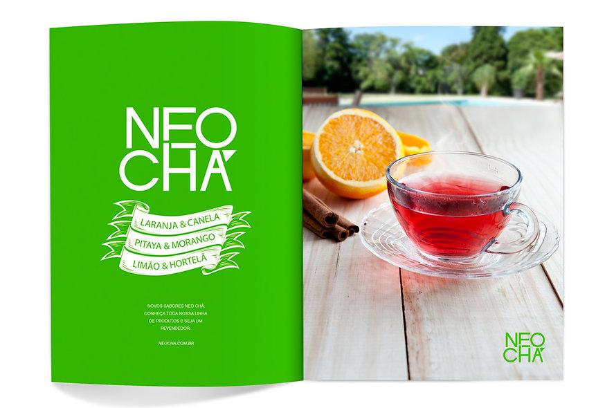 Anúncio de revista, fotografia de produto e design gráfico