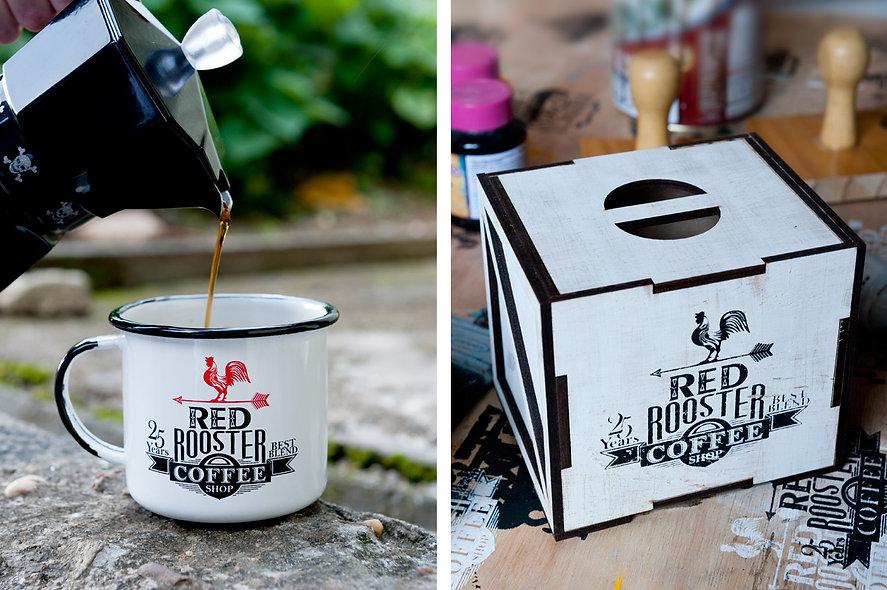 desenvolvimento de produtos, design gráfico e estampas exclusivas para a linha de produtos do Clube do Café.